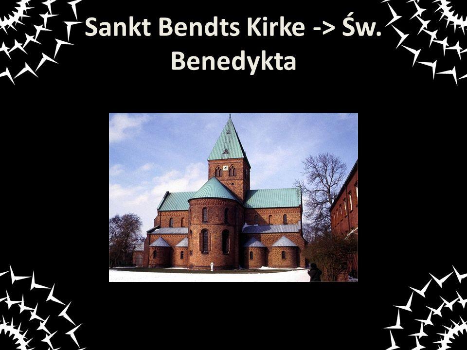 Sankt Bendts Kirke -> Św. Benedykta