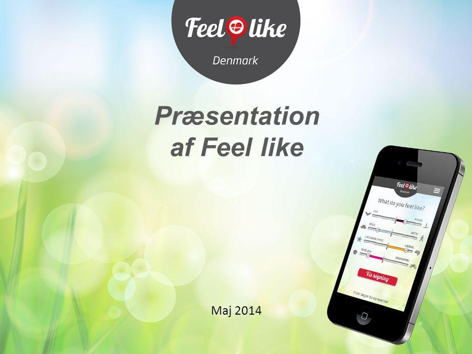 Præsentation af Feel like Maj 2014