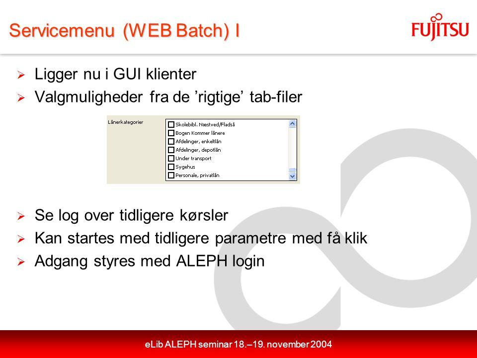 eLib ALEPH seminar 18.–19.