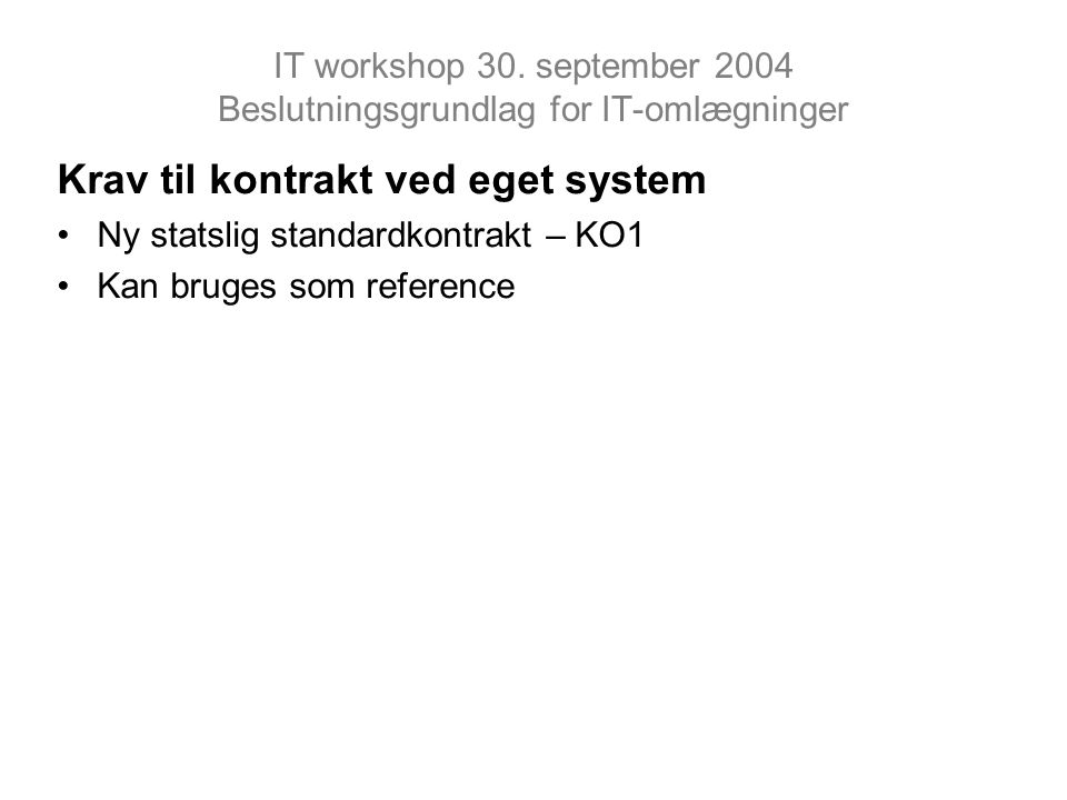 IT workshop 30.