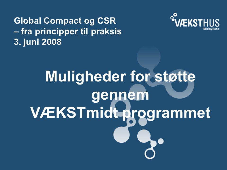 Global Compact og CSR – fra principper til praksis 3.