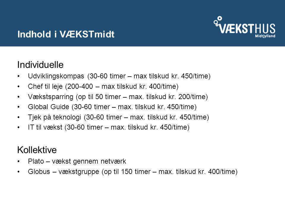 Individuelle Udviklingskompas (30-60 timer – max tilskud kr.