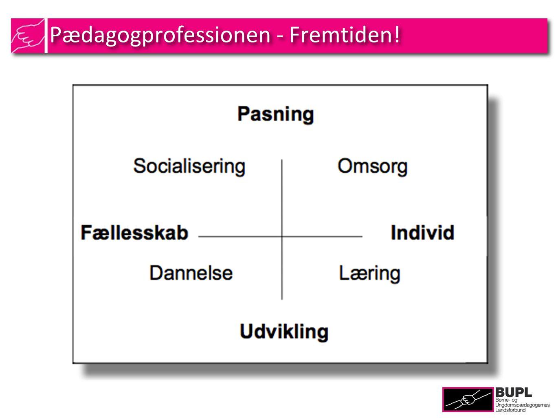 Pædagogprofessionen - Fremtiden!