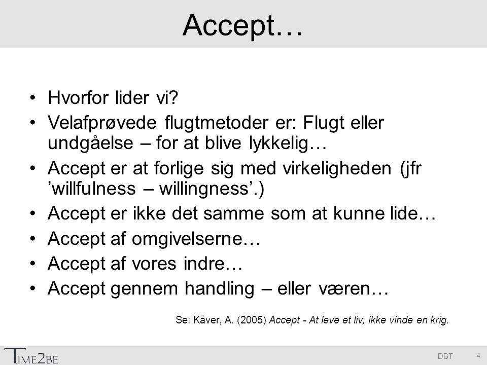 DBT Accept… Hvorfor lider vi.