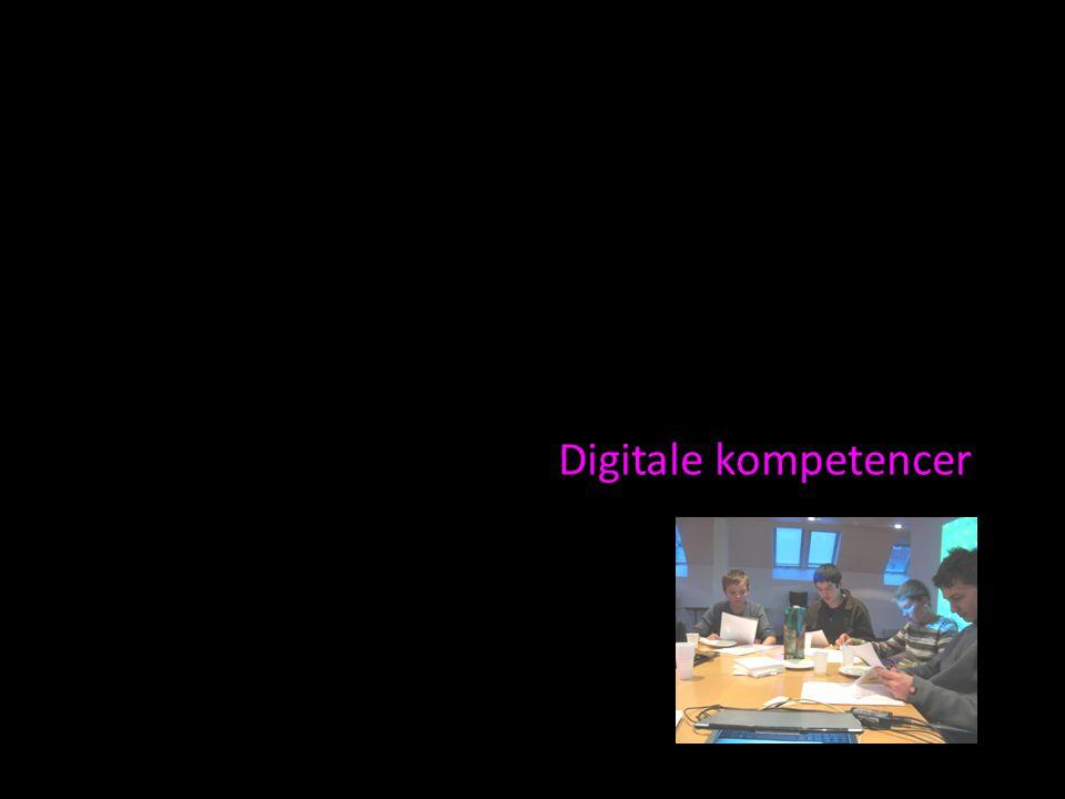 Digitale kompetencer
