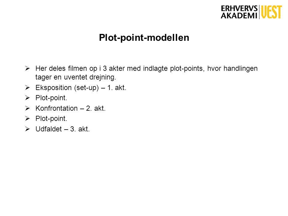 Bølgemodellen  Denne model er skabt som modvægt til berettermodellen.