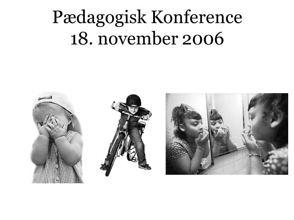 Pædagogisk Konference 18. november 2006
