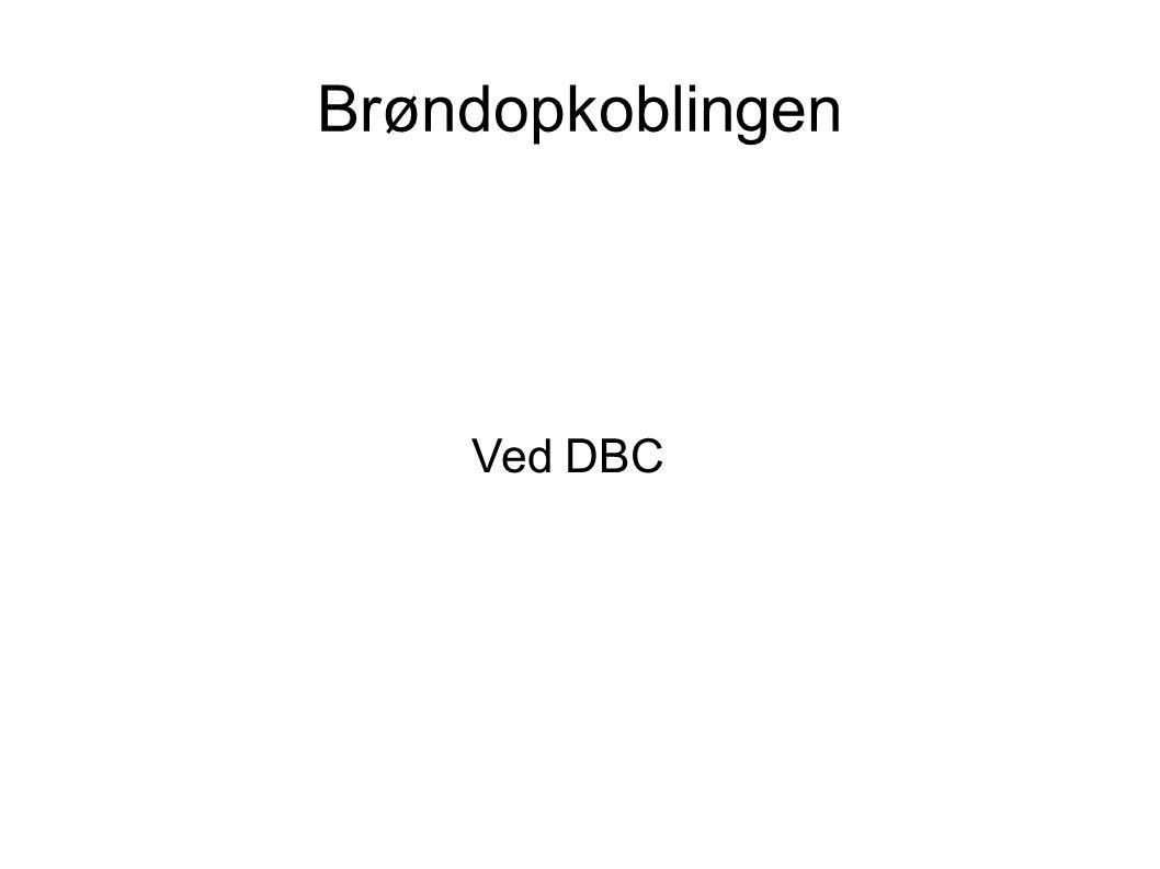 Brøndopkoblingen Ved DBC