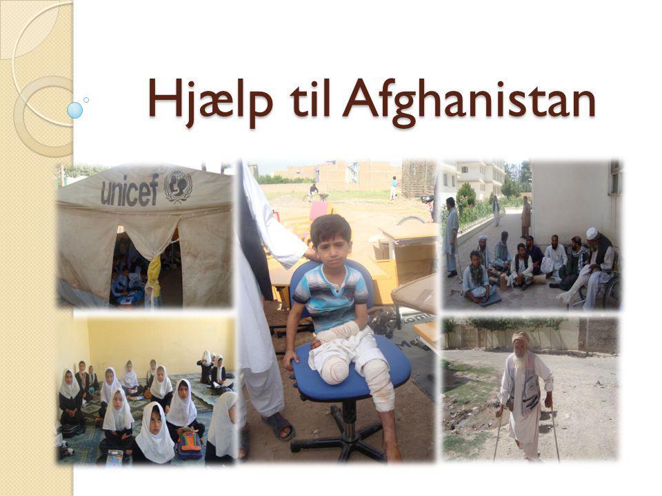 Hjælp til Afghanistan