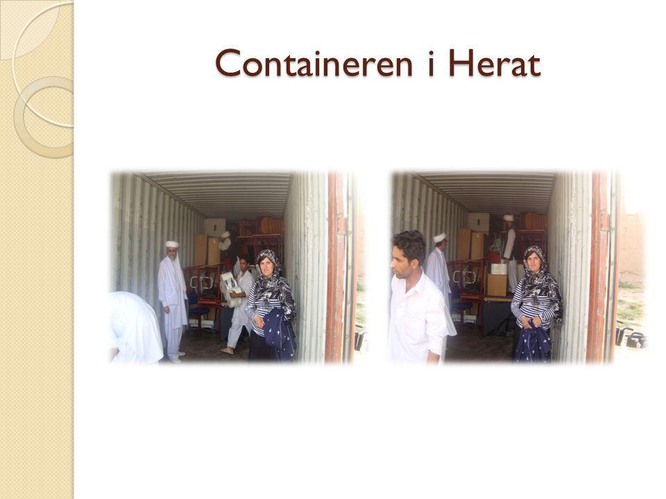 Containeren i Herat