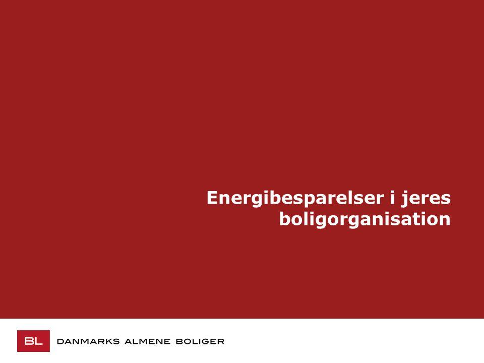Energibesparelser i jeres boligorganisation