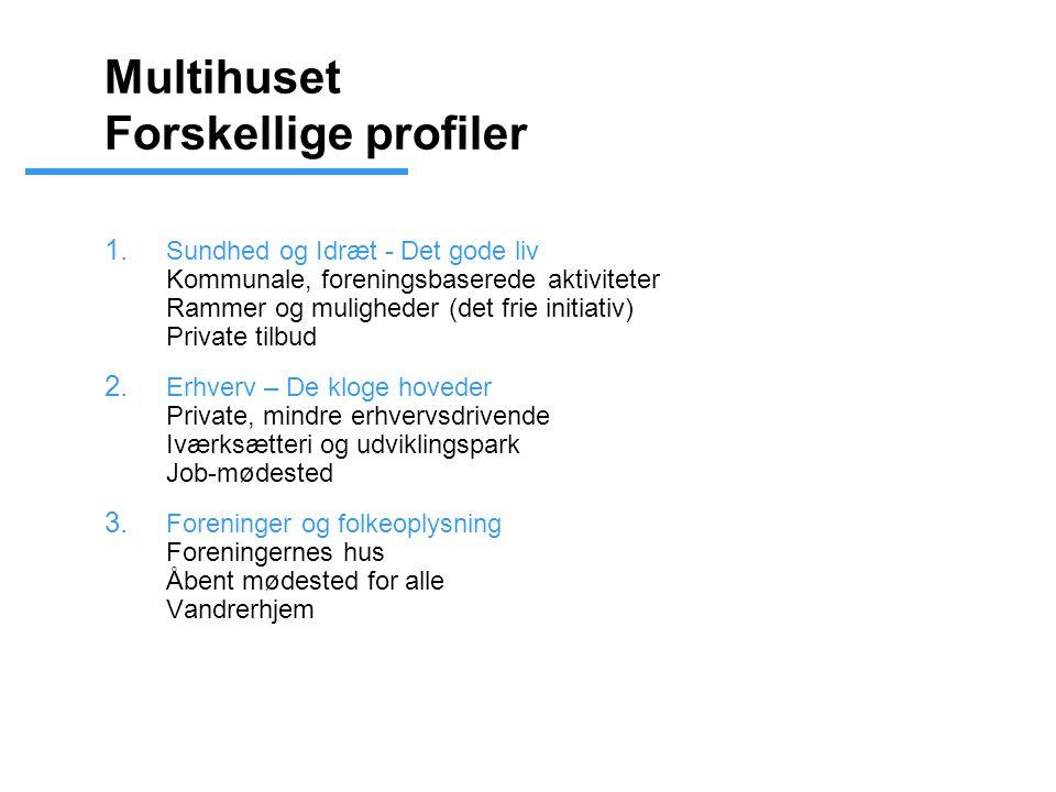 Multihuset Forskellige profiler 1.