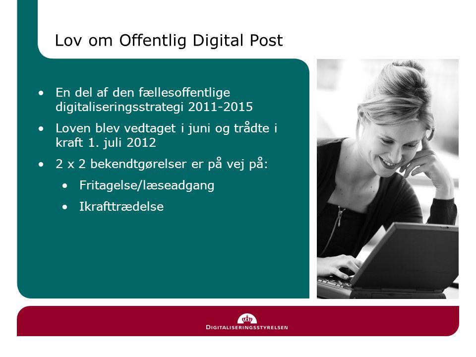 I drift siden 2010 på borger.dk og virk.dk Ca.2 mio.
