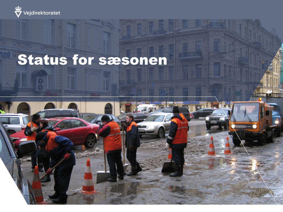 Status for sæsonen
