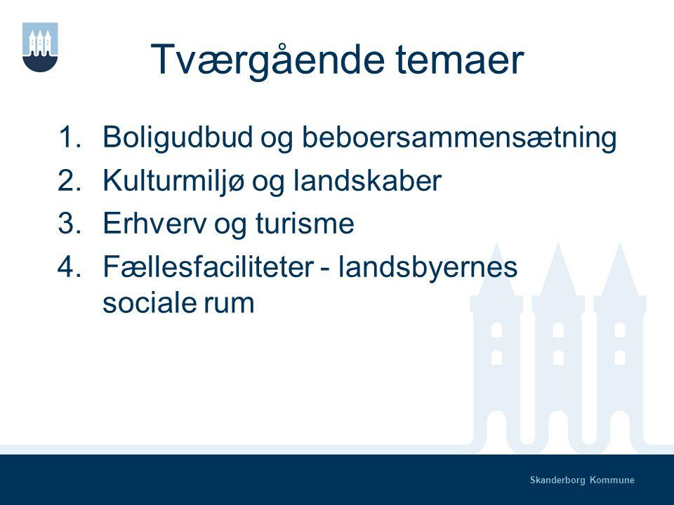 Skanderborg Kommune Temagrupper – politisk behandling Scenarierne behandles politisk Tilbagemelding til temagrupper