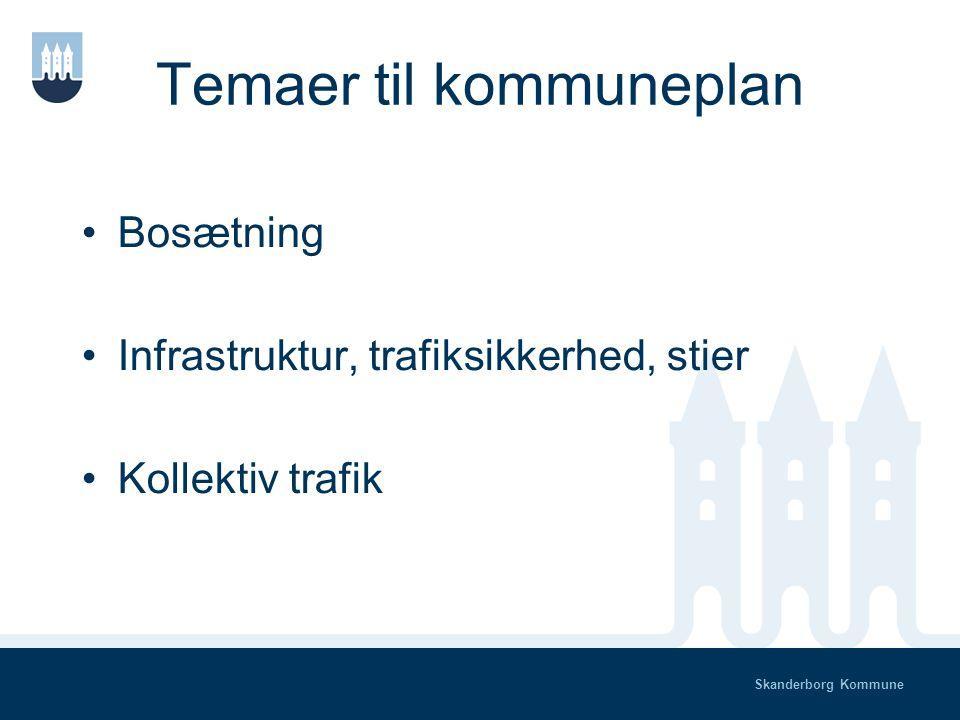 Skanderborg Kommune Tværgående temaer