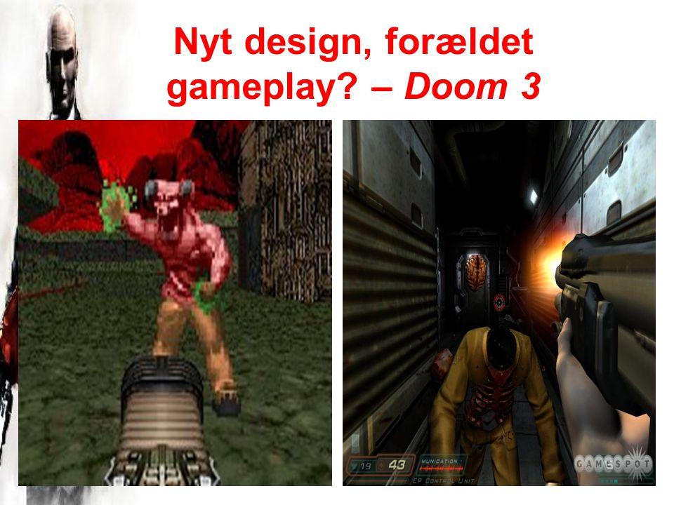 Nyt design, forældet gameplay – Doom 3