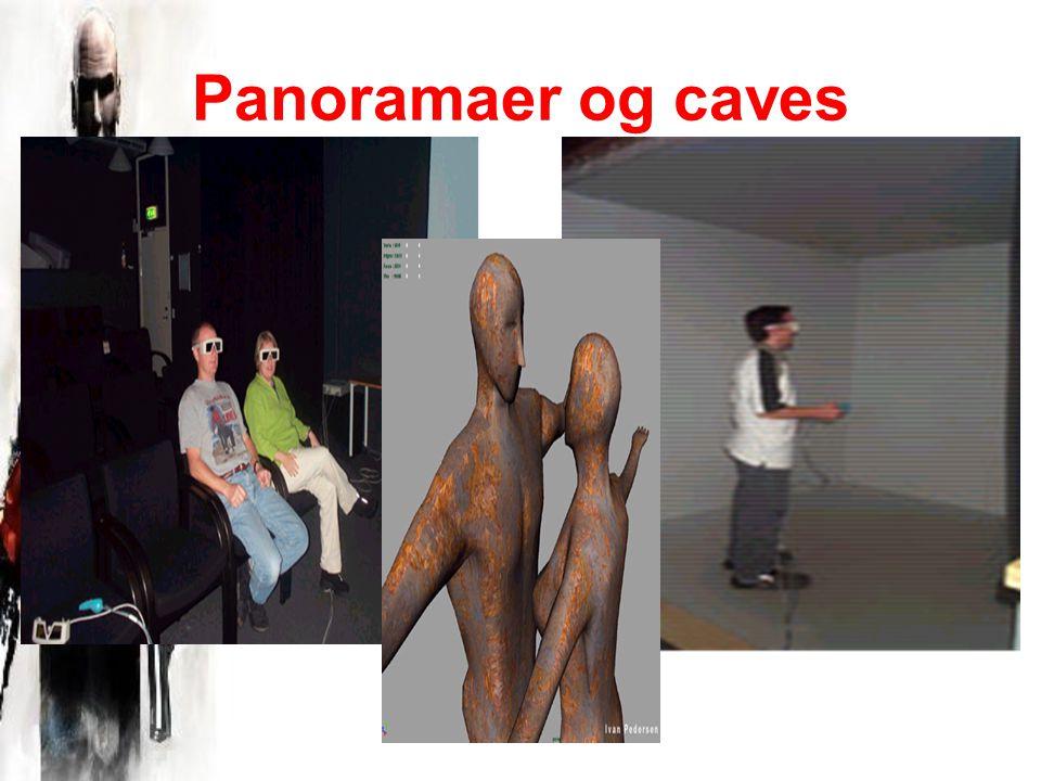Panoramaer og caves