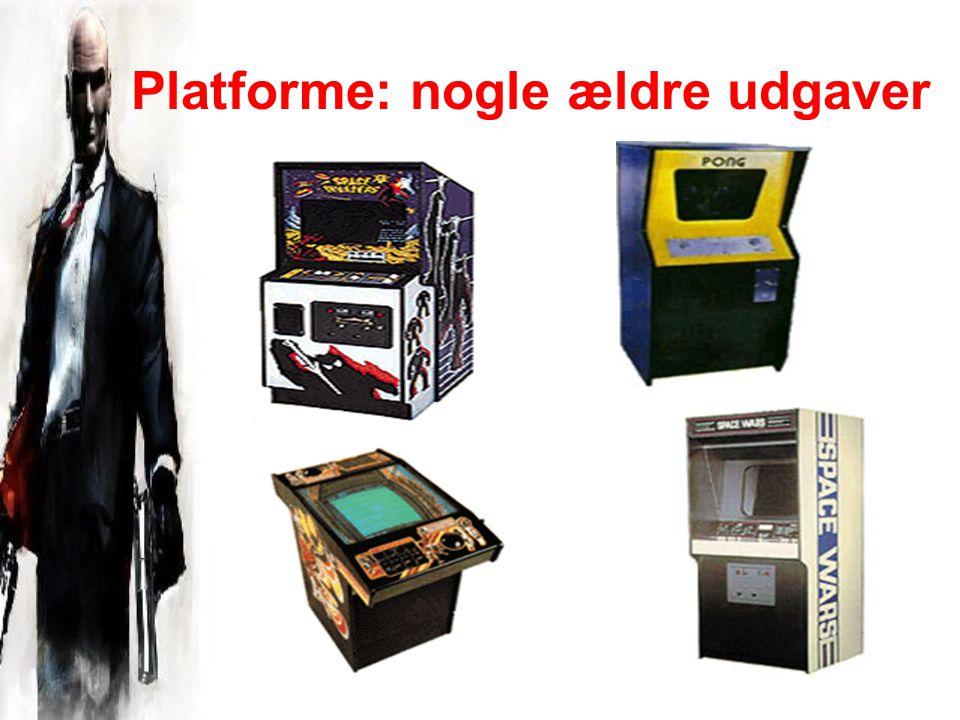 Platforme: nogle ældre udgaver
