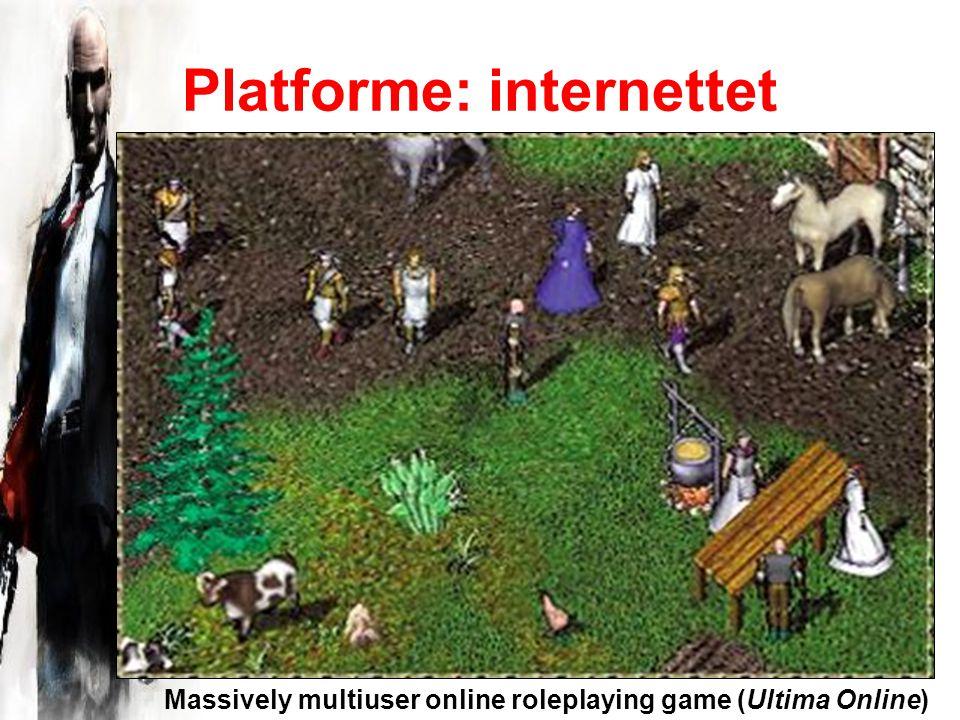 Platforme: internettet Massively multiuser online roleplaying game (Ultima Online)