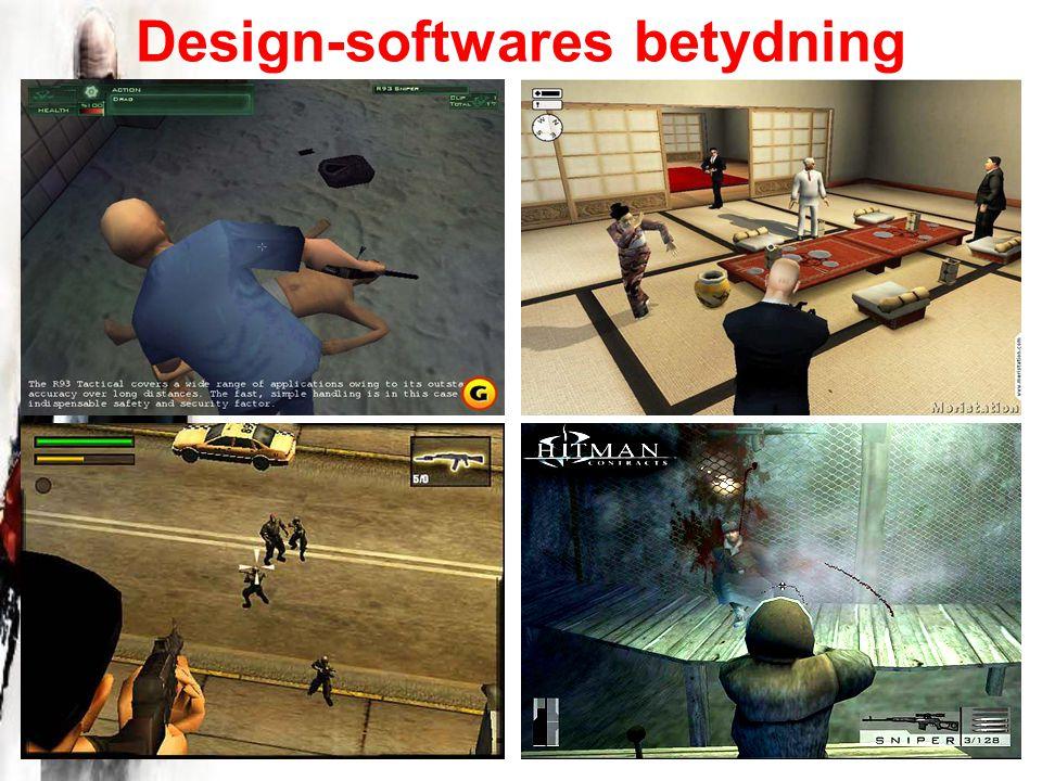 Design-softwares betydning