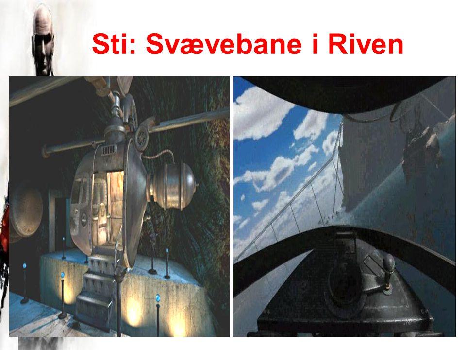 Sti: Svævebane i Riven