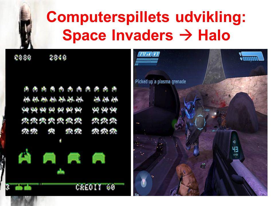 Computerspillets udvikling: Space Invaders  Halo