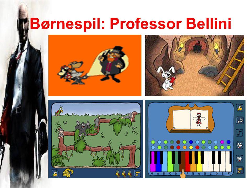 Børnespil: Professor Bellini