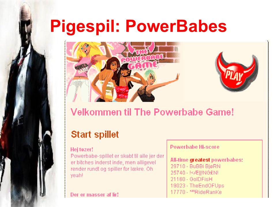 Pigespil: PowerBabes