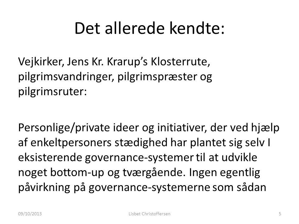 Det allerede kendte: Vejkirker, Jens Kr.
