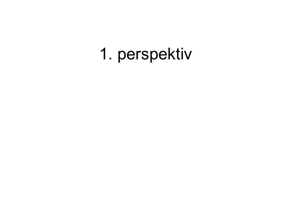 1. perspektiv