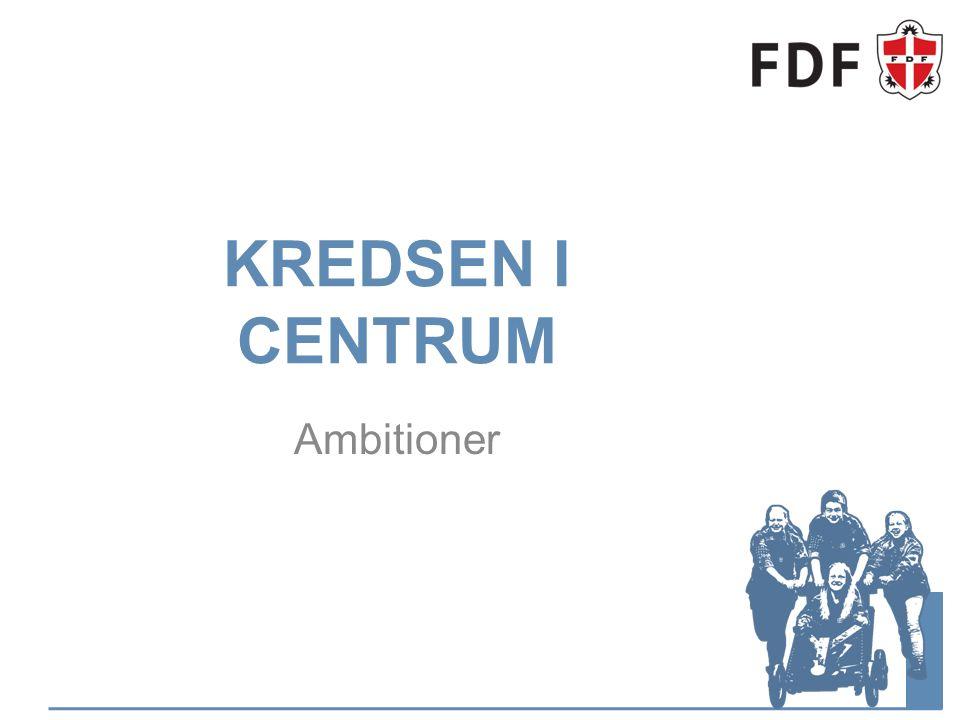 KREDSEN I CENTRUM Ambitioner