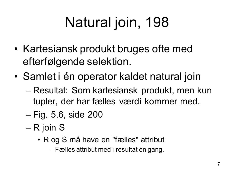 18 Constraints, 231 Regler (business rules), der skal gælde på et relationelt skema.