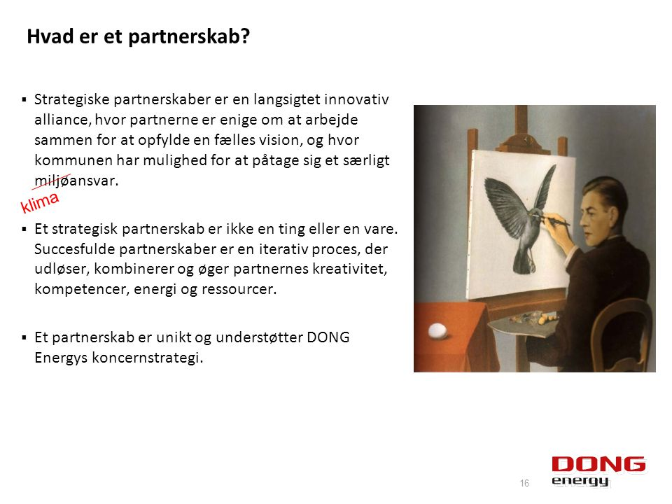 Hvad er et partnerskab.