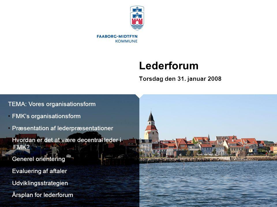 Lederforum Torsdag den 31.