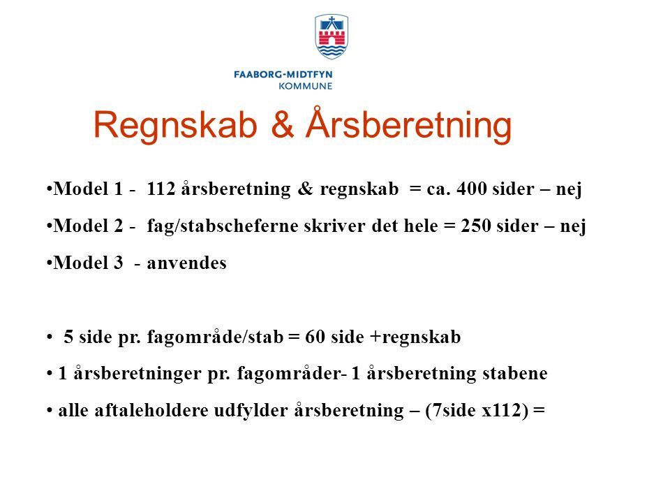 Regnskab & Årsberetning Model 1 - 112 årsberetning & regnskab = ca.