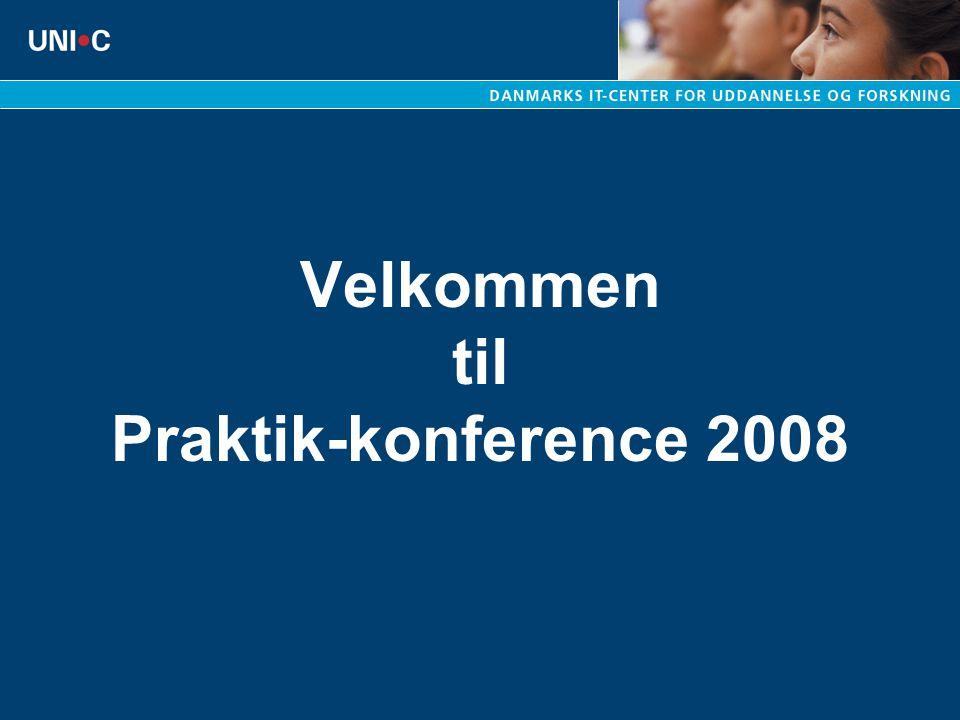 Velkommen til Praktik-konference 2008