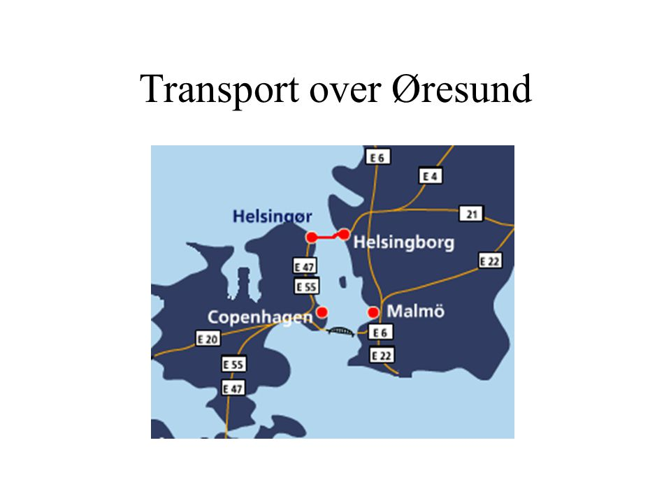 Transport over Øresund