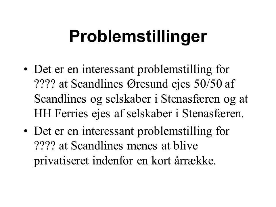 Problemstillinger Det er en interessant problemstilling for .
