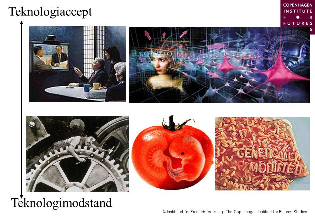 © Instituttet for Fremtidsforskning - The Copenhagen Institute for Futures Studies Teknologiaccept Teknologimodstand