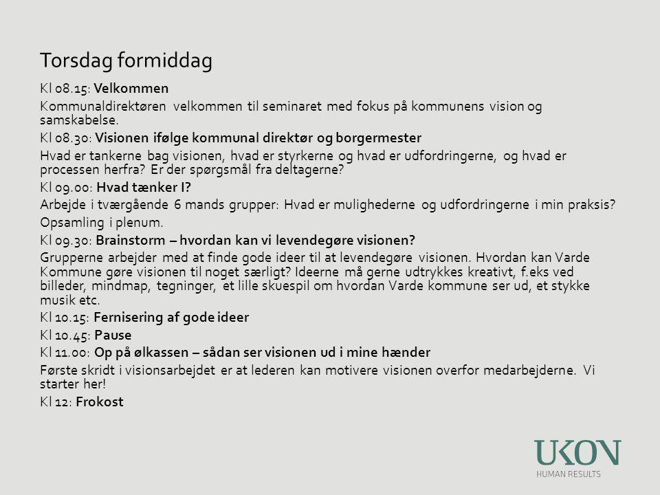 Kl 13.00: Varde Kommune på vej til en samskabende kommune - borgerperspektiver Bearbejdning af interviews – hvad siger det os.