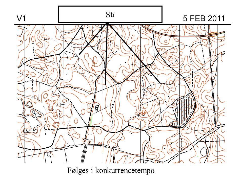 Høj Sti V1 5 FEB 2011 Følges i konkurrencetempo