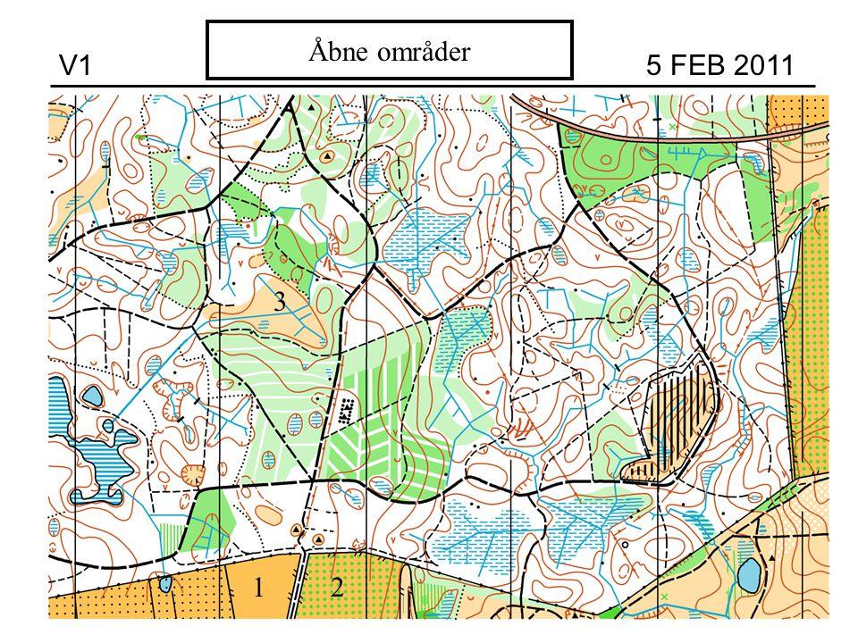 V1 5 FEB 2011 Åbne områder 1 3 2