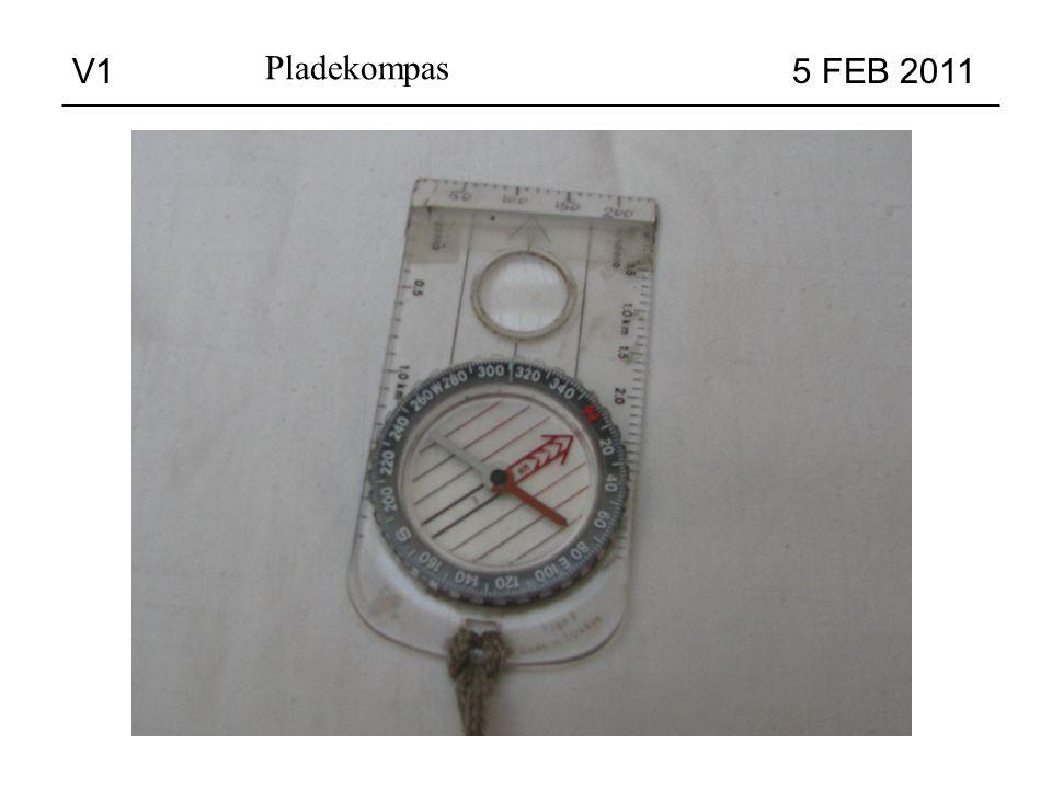 Pladekompas V1 5 FEB 2011