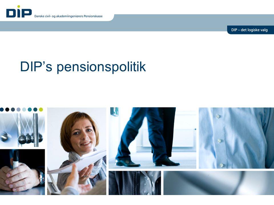 DIP's pensionspolitik