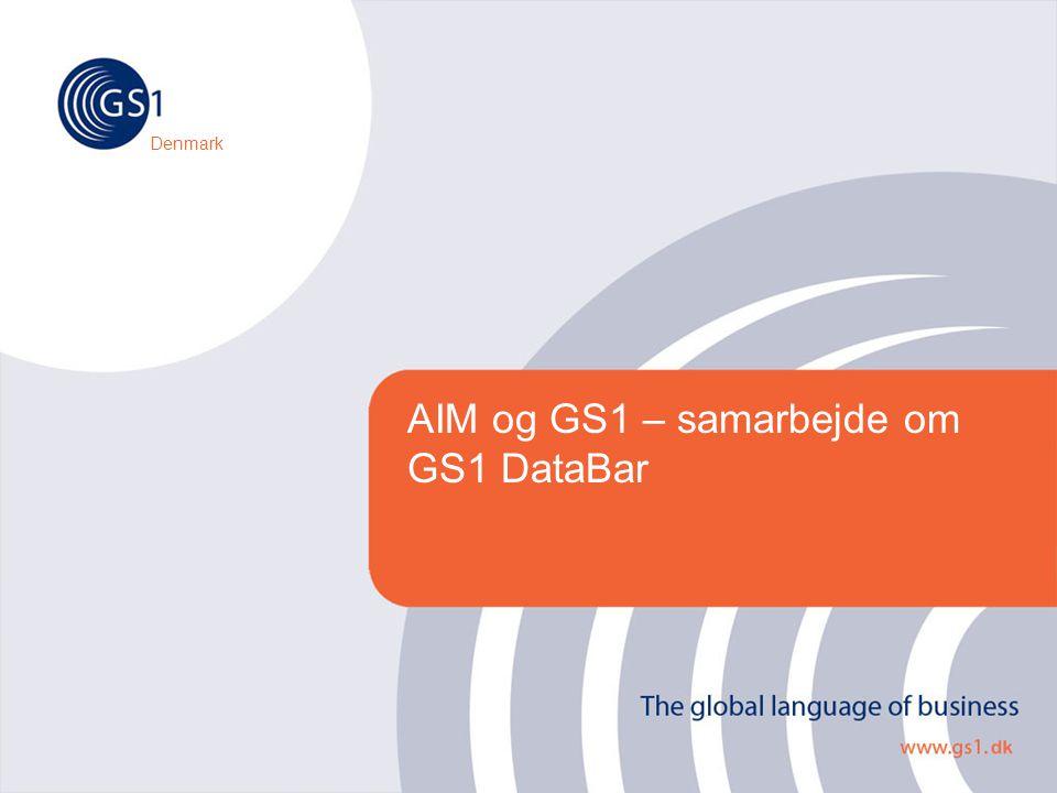AIM og GS1 – samarbejde om GS1 DataBar Denmark