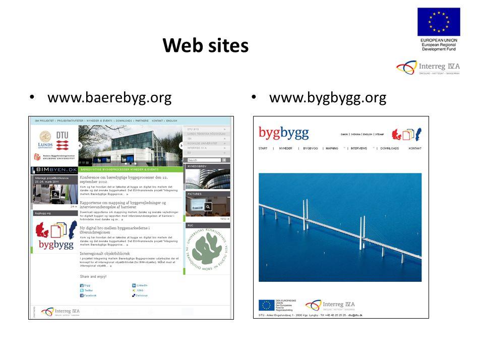 Web sites www.baerebyg.org www.bygbygg.org
