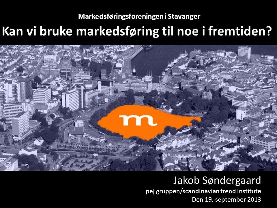 Kan vi bruke markedsføring til noe i fremtiden.