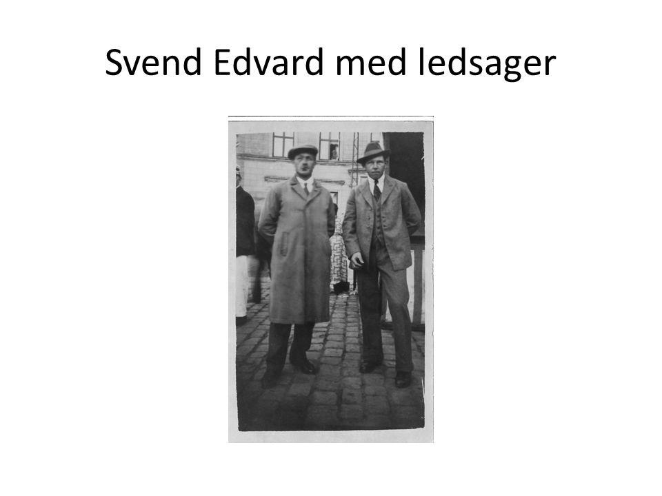 Svend Edvard med ledsager