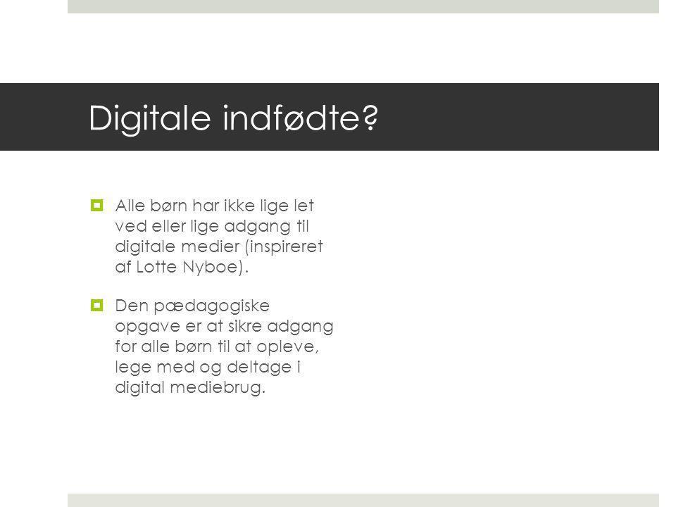 Digitale indfødte.